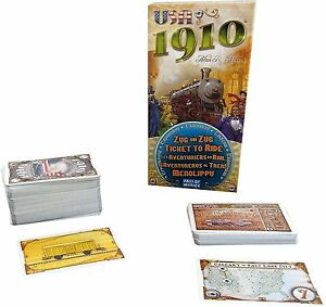 USA-1910-Expansion-Ticket-To-Ride-Board-Game-Days-Of-Wonder-Asmodee-DOW-DO7216