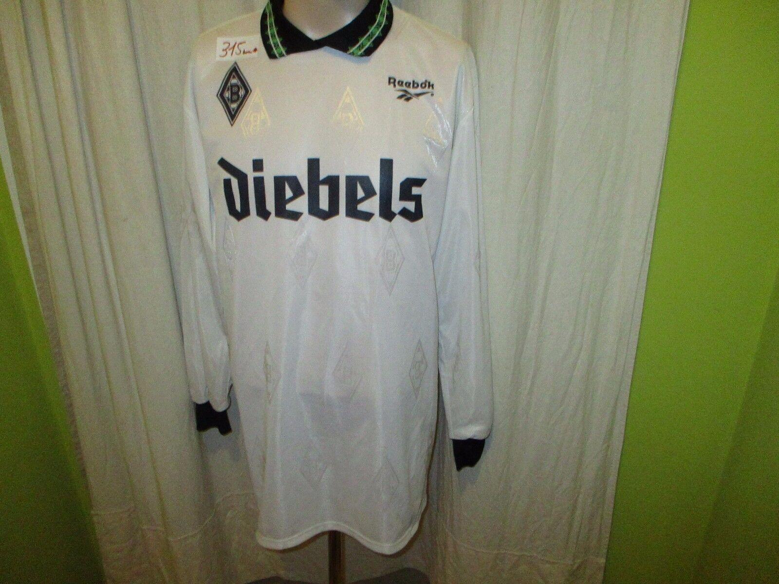 Borussia Mönchengladbach Reebok Heim Langarm Trikot 1995/96