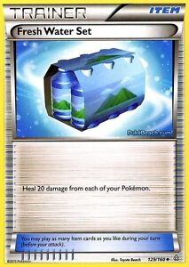 FRESH-WATER-SET-129-160-PRIMAL-CLASH-POKEMON-REV-HOLO-TRAINER-CARD-NEW-MINT