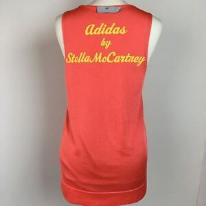 Stella-McCartney-Adidas-Vest-Top-Womens-Size-XS-UK-Size-10-Coral-Peach