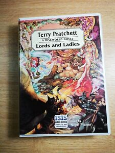 TERRY-PRATCHETT-039-039-LORDS-AND-LADIES-039-039-8-audio-cassetttes-A-DISCWORLD-NOVEL
