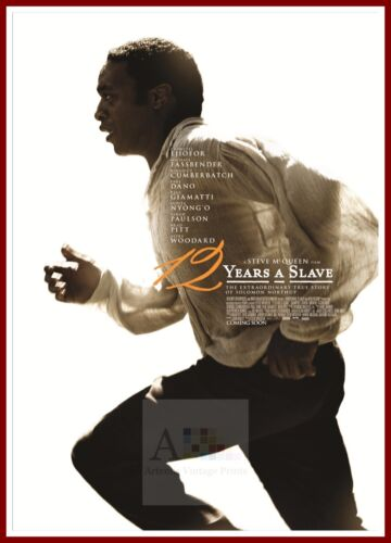 12 Years A Slave   21st Century   Movie Posters Classic Cinema /& Vintage Film