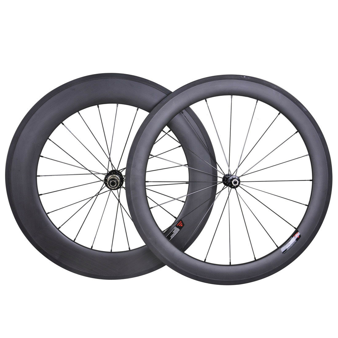 60mm Front 88mm Rear Clincher Wheel Set Full Carbon Road Bicycle Rim Basalt 700C