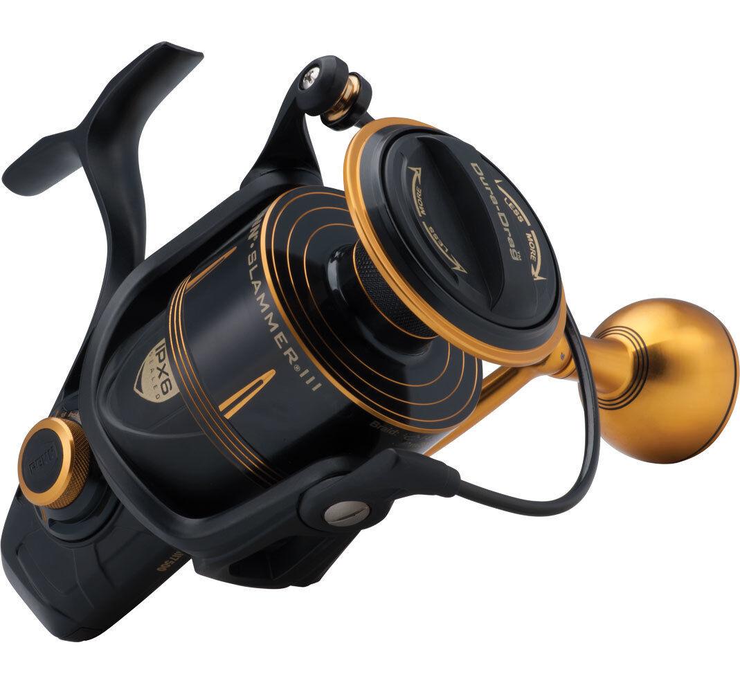 Penn Slammer III Fixed Spool- All Größes and High Speed Models Available