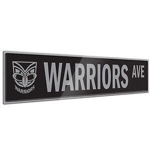 NZ-New-Zealand-Warriors-NRL-Tin-Street-Sign-NRL-OFFICIAL-MERCHANDISE