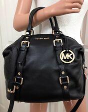Michael Kors Tasche/Handtasche/Bag BEDFORD MD Satchel Leder Black NEU!