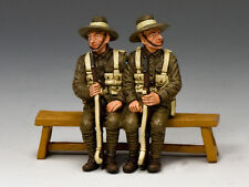 GA010-Q Sitting Anzacs Set #1 (Queensland) by King and Country