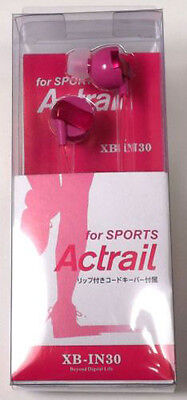 Pink Stereo Sports Earbuds Earphones for iPod iPhone MP3