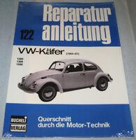 Reparaturanleitung VW Käfer 1200 / 1300 / 1500 Volkswagen, Baujahre 1964 - 1967