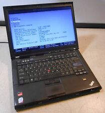 LENOVO Thinkpad T400 Intel Core 2 Duo @ 2.80GHz 3GB RAM LAPTOP COMPUTER no hdd