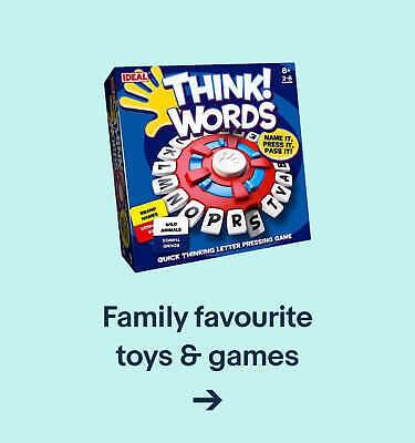 Family favourite toys & games