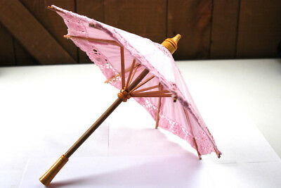 Pink Panda Umbrella Parasol For 18 Inch American Girl AG Accessories