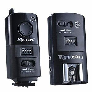 Aputure 2.4G Wireless Flash Trigger Trigmaster II MXII-S for SONY Camera DSLR