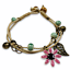 miniature 17 - Bracelet Flower Daisy Beads Girls Ceramic Charm Jewellery Silver Ankle Girls