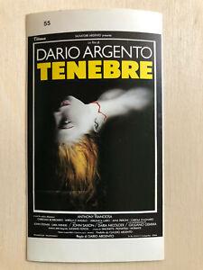 Poster Plakat Aufkleber Sticker 1982 Dario Argento Tenebre Aufkleber & Sticker