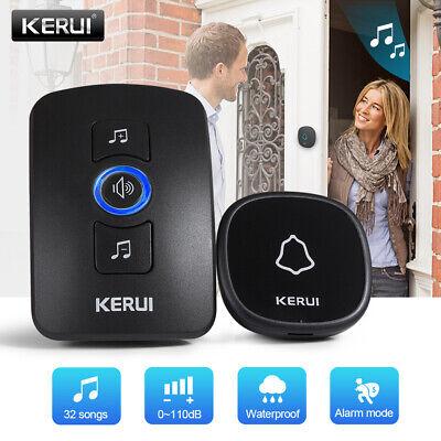 KERUI M525 Home Security Wireless Doorbell Burglar Alarm Waterproof Touch Button