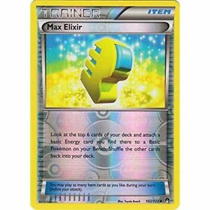 Max-Elixir-102-122-Uncommon-Reverse-Holo-NM-XY-Breakpoint