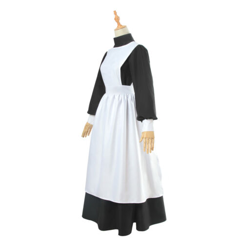 Les femmes Pioneer Costume Floral Prairie Dress Cotton Deluxe Colonial Maid Dress