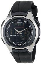 Casio AQ160W-1B Mens Full LCD Analog Digital Resin Sports Watch 100M Stopwatch