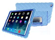 Apple iPad Air 2 Hideaway with Stand Light Blue Gumdrop Cases Silicone Ru... New
