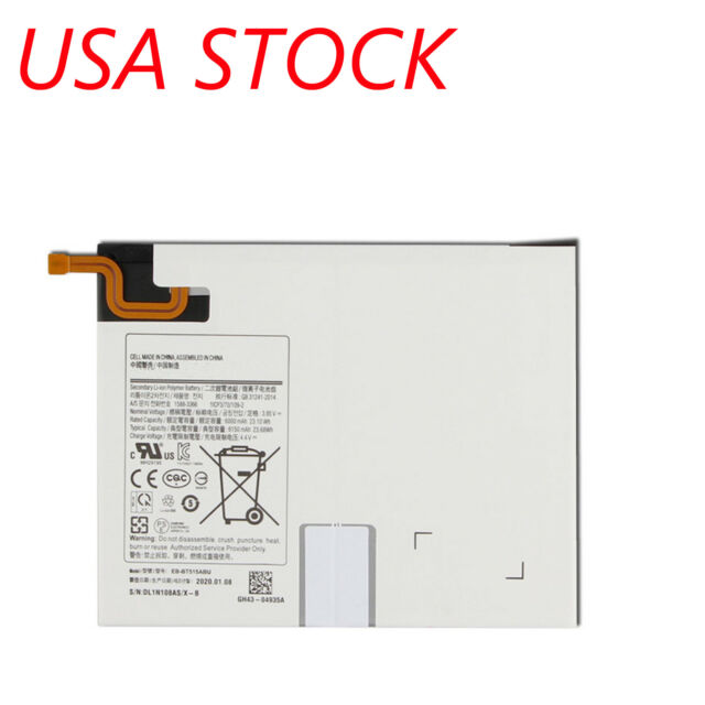 Replacement Battery EB-BT515ABU Compatible with Samsung Galaxy Tab A 2019 T510 T515 with Tools
