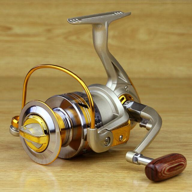 10BB Ball Bearing Saltwater Freshwater Fishing Spinning Reel 5.5:1 EF1000-7000