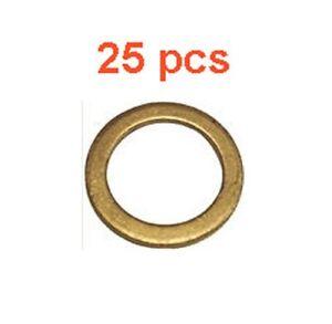 (25) Marli 14 mm Copper Oil Drain Plug Gaskets M14 DP7201 72-01