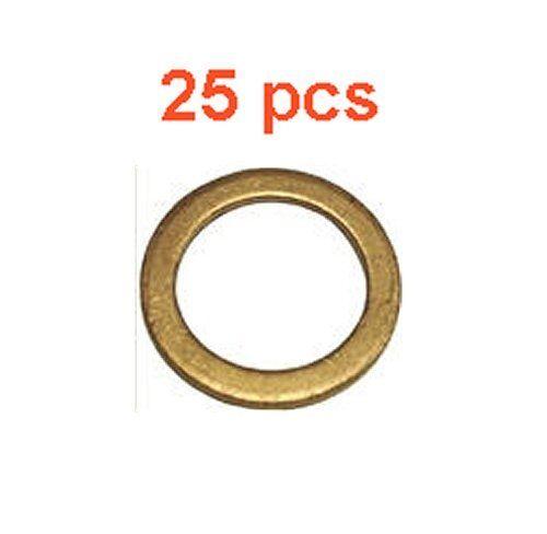 25 Marli 14 mm Copper Oil Drain Plug Gaskets M14 DP7201 72-01