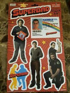 Superbad-Magnet-Set-Of-6-Great-Movie-With-FREE-McLovin-Air-Freshener-3-99-Saving