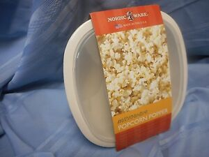Image Is Loading New Nordic Ware Microwave Popcorn Popper Made Usa