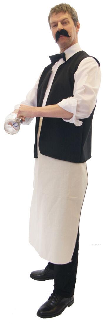 Allo     Rene   Franzose   Barmann Schürze & Weste modisches Kostüm-Set sml-xxxxl | Outlet Store Online  | Erste Klasse in seiner Klasse  | Lebhaft und liebenswert  eb2119