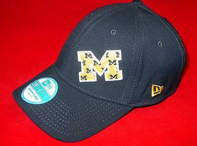 Basketball-other Nuovo Licenza Michigan Ghiottoni New Era 39thirty Flexfit Cappello Taglia M/l Utmost In Convenience Sports Mem, Cards & Fan Shop