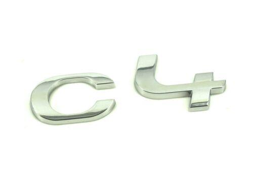 Genuine New CITROEN C4 badge coffre arrière Emblème Pour C4 2011-2017 VTi HDi THP EHDI