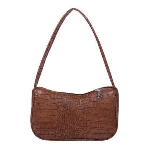 Damenhandtasche Damentasche Schultertasche Leder Umhängetasche Einfache elegante