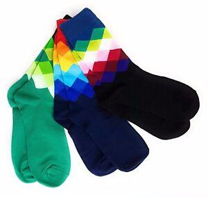 Bunte Socken 3er Set Moderne Business Socken Für Herren Gr 41