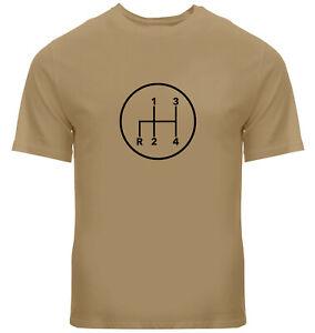 Manual-Transmission-Shift-Pattern-4-Speed-Stick-Shirts-Mens-Unisex-Tee-T-Shirt