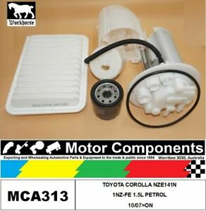 FILTER-SERVICE-KIT-FOR-TOYOTA-COROLLA-NZE141N-1NZ-FE-1-5L-PETROL-10-07-gt-ON