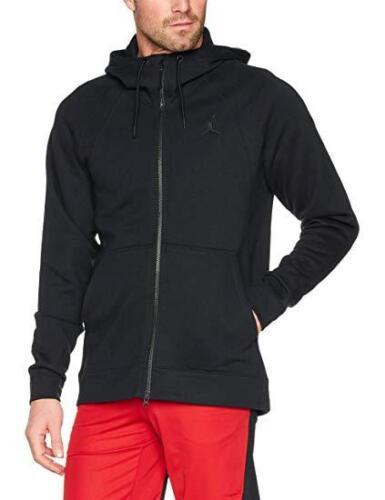 Black Hoodie Bulls Aj Flight Bnwt Hoody Hood Nike Jordan Air Fleece Wings fStPqH8w