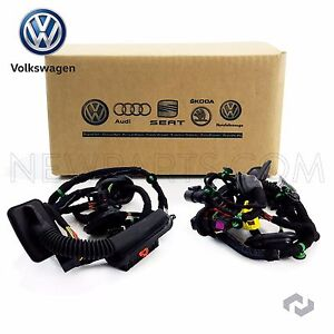 s l300 volkswagen jetta 05 06 front driver left door wiring harness 2006 vw jetta driver's side door wiring harness at n-0.co