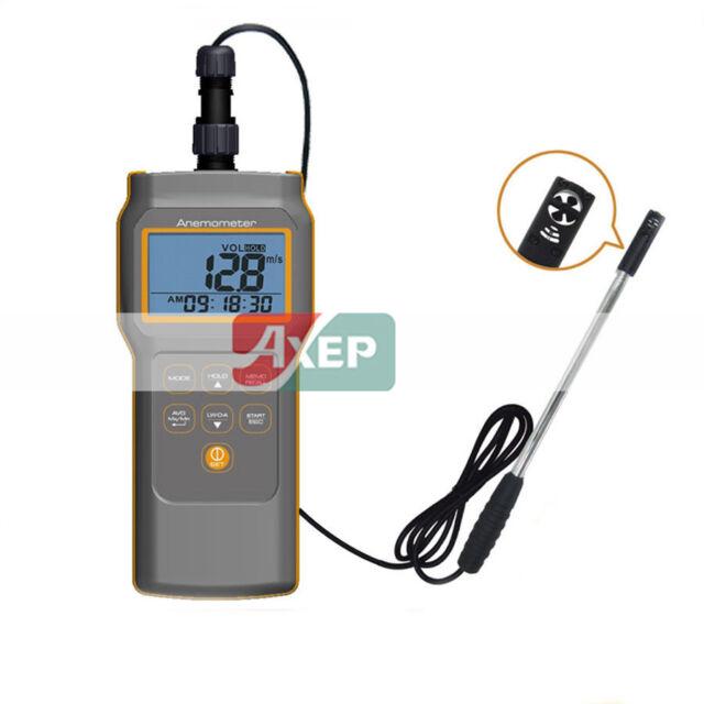 A● AZ-8905 Combo Flow,TEMP.RH% Anemometer,Handheld Anemometer