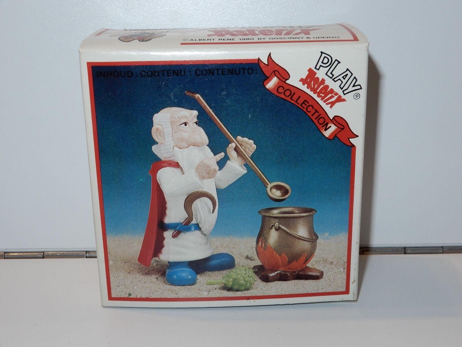 Asterix spielen oder action - figuren miraculix mib versiegelt inhalt toycloud 80er