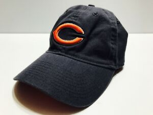Reebok NFL Chicago Bears Low Profile Baseball Hat Cap One Size Strap ... 27b05430820