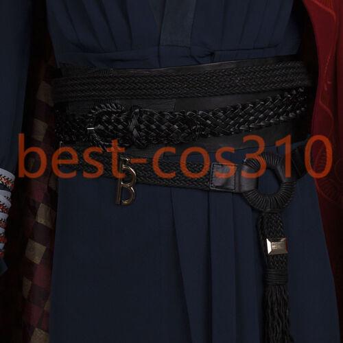 Cosplay Avengers Doctor Strange Full Set Costume Eye of Agamotto Necklace Props