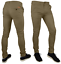 Mens-Skinny-Fit-Stretch-Chino-Trousers-Casual-Flat-Front-Super-Skinny-Pants miniatura 6