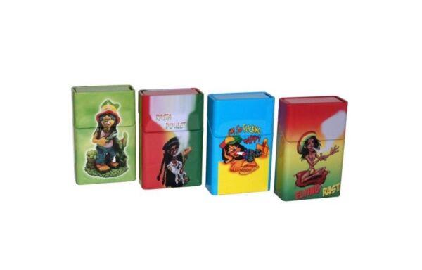 Trendmarkierung 21er Big Box Zigarettenetui Zigarettenbox Zigaretten Etui Case Box Versch Motive BerüHmt FüR AusgewäHlte Materialien, Neuartige Designs, Herrliche Farben Und Exquisite Verarbeitung