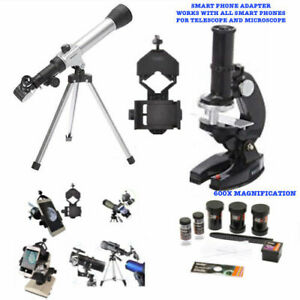 40X-TELESCOPE-TRIPOD-FOR-LUNAR-STAR-OBSERVATION-600X-MICROSCOPE-PHONE-MOUNT