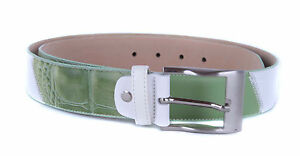 Echtleder-Guertel-Lederguertel-Belt-made-in-Italy-Gr-XL-105-cm-kuerzbar
