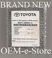 2010 2011 Toyota Sienna Sequoia Tundra Genx5 E7030 Navigation Dvd Map Update
