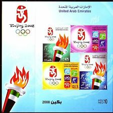 UAE 2008 ** Bl.40 Olympische Sommerspiele | Olympic Games Beijing