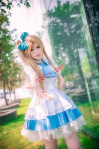 Minami Kotori Cosplay Costume Lolita Skirt Maid Anime Uniform Dress LoveLive